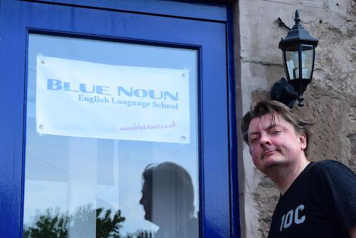 Blue Noun English Language School coaches -Kenny