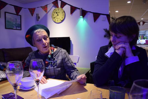 Scottish culture event Blue Noun English Language School English immersion activity