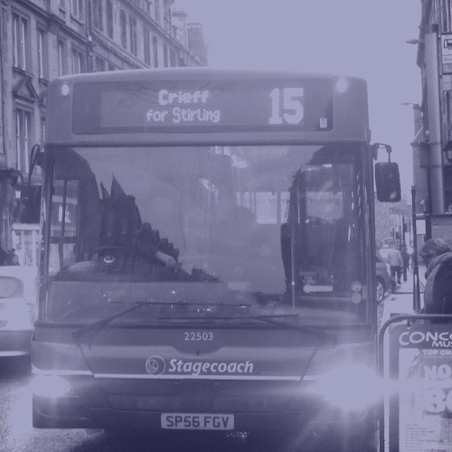 Bus from Perth to Crieff - how to get to Blue Noun English language School