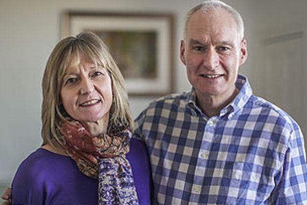 Blue Noun English Language School Host Family accommodation Aileen and Nick