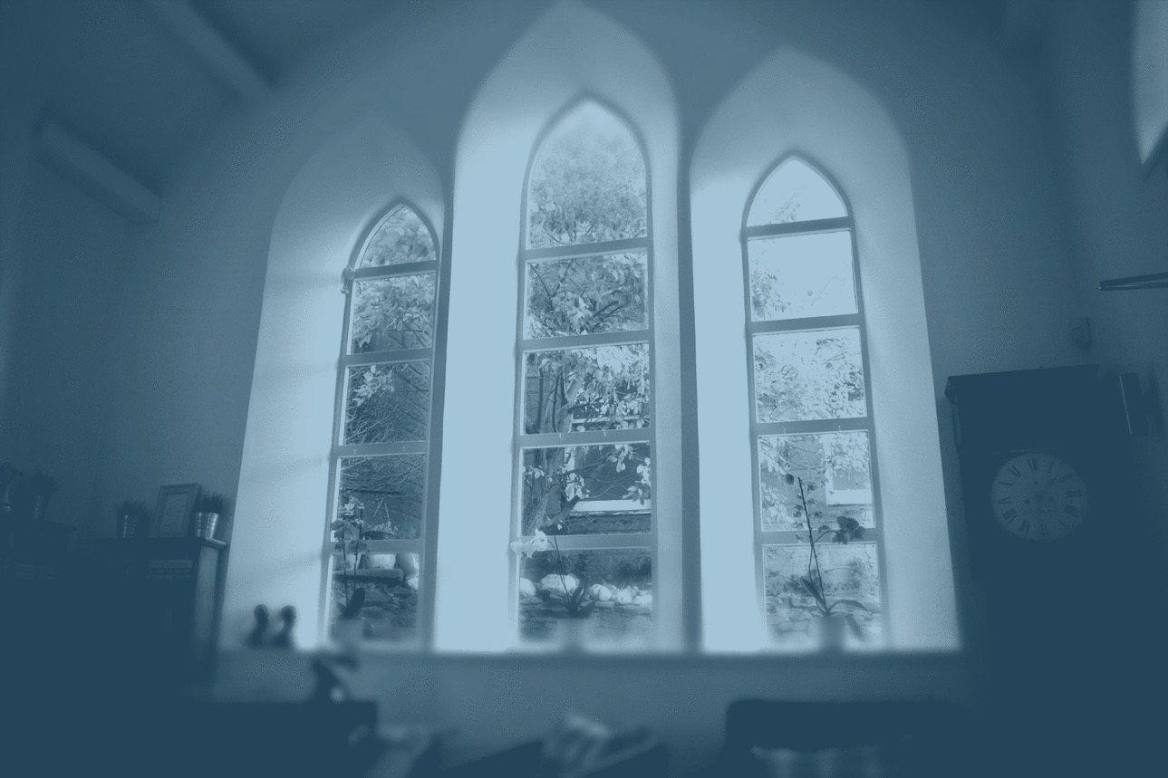 our english language classroom is based in an old church