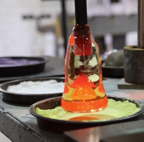 Visit Caithness Glass Factory Crieff on your English language holiday immersion English course