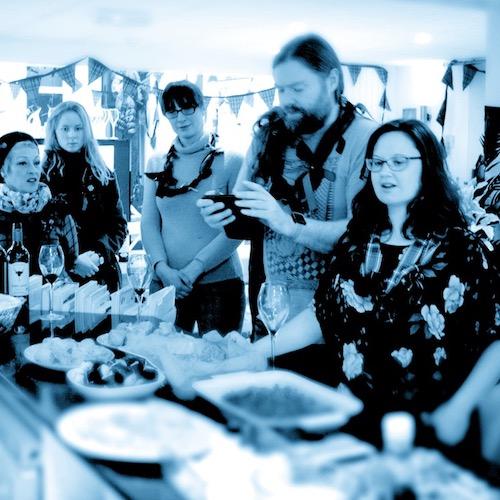 English Language School Perthshire meal time tasting menu Perthshire food and drink