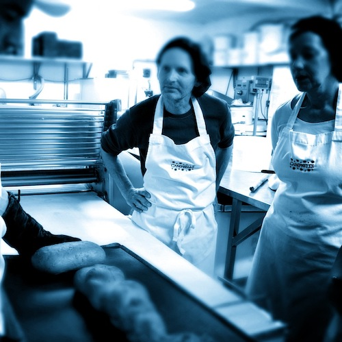 English Language School Scotland activities Break making workshop wiht Campbells Bakery Crieff