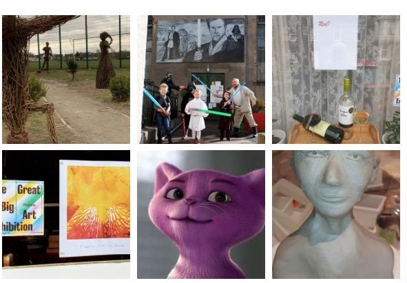 English Language School Blog Great big art Exhibition Strathearn
