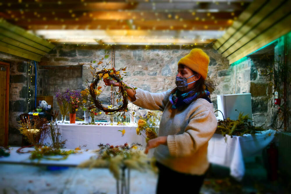 Meet the Makers Immersion English | Autumn Wreath Making