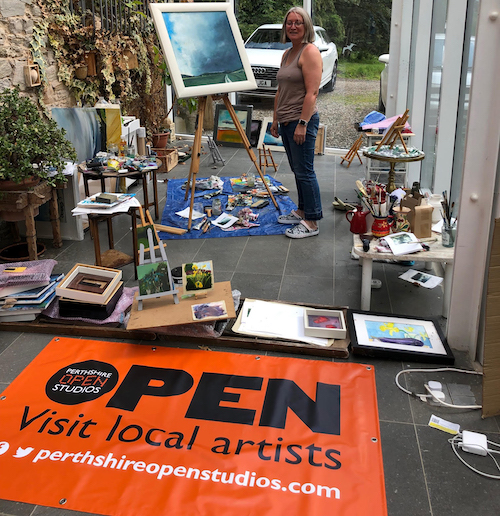 Perthshire Open Studios Meet the Makers English Language Holiday Programme