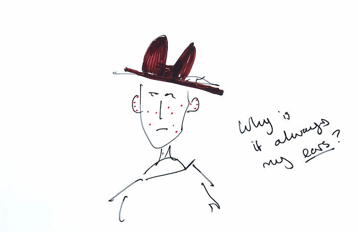 Make the most of a trip to Scotland English Language School Perthshire Scottish midge drawing