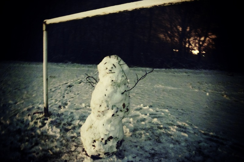 learn English with art Strathearn Snowmen everyone is beautiful