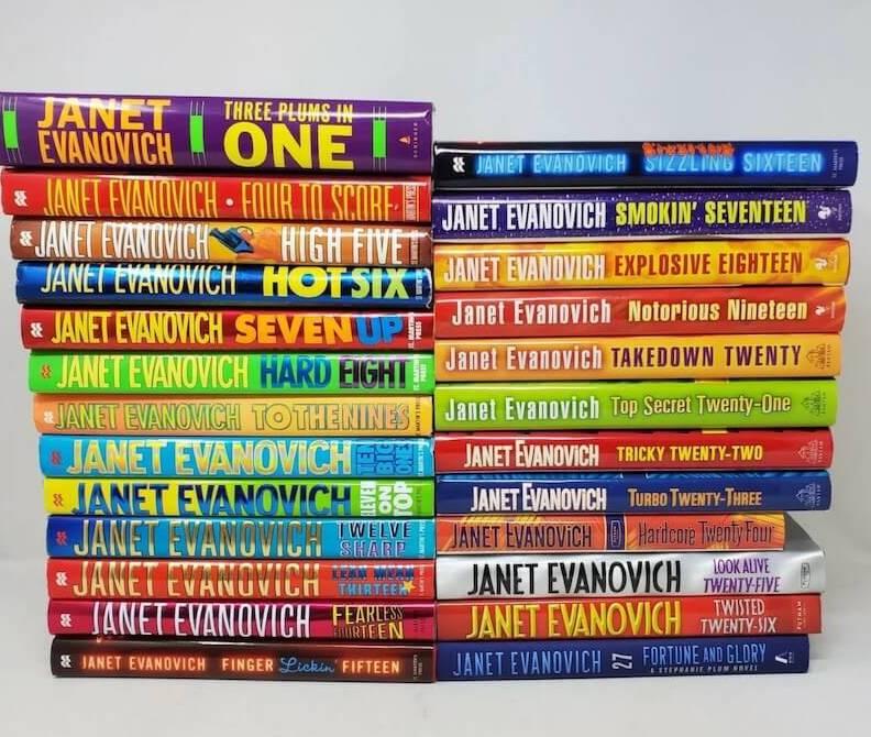 Books for English language learners Janet Evanovich Stephanie Plum series