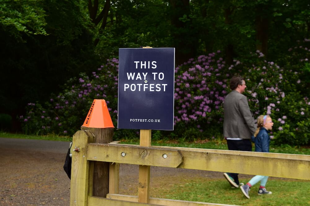 English Language School Perthshire Potfest at Scone Palace