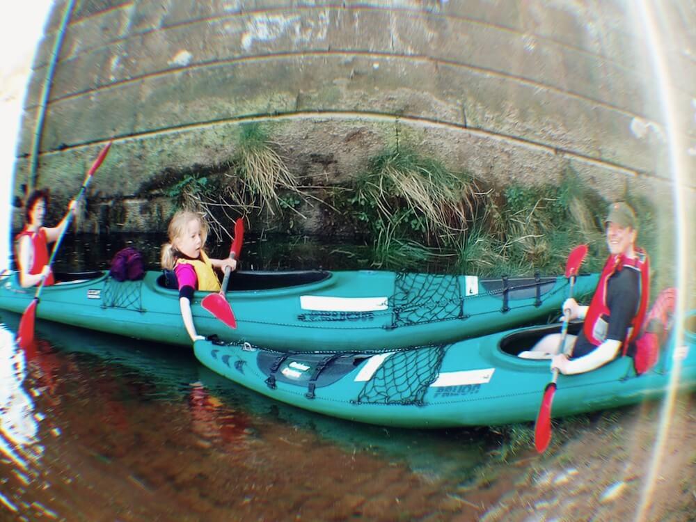 English language holiday activities Perth City Tours Kayaking River Tay