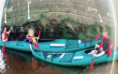 English Language Holiday Activities | Kayaking the River Tay