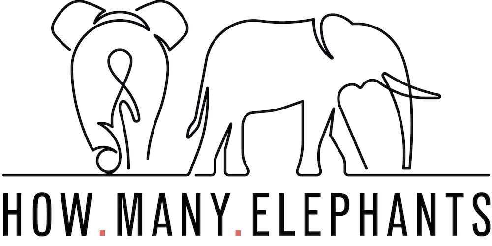 English for designers English language skills for creatives How Many Elephants logo