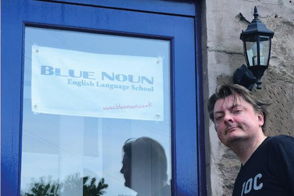 Blue Noun English Language School about us - Kenny